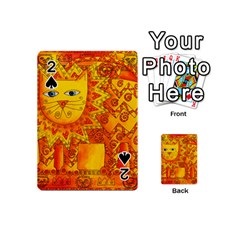 Patterned Lion Playing Cards 54 (mini)