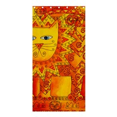 Patterned Lion Shower Curtain 36  x 72  (Stall)