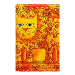 Patterned Lion Shower Curtain 48  x 72  (Small)
