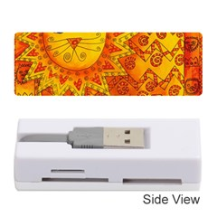 Patterned Lion Memory Card Reader (Stick)