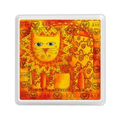 Patterned Lion Memory Card Reader (Square)