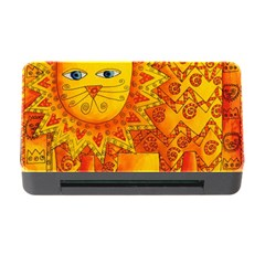 Patterned Lion Memory Card Reader with CF