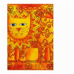 Patterned Lion Small Garden Flag (Two Sides)