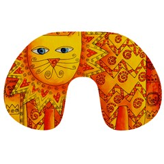 Patterned Lion Travel Neck Pillows