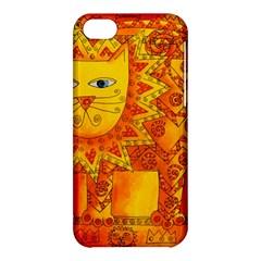Patterned Lion Apple Iphone 5c Hardshell Case