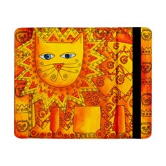 Patterned Lion Samsung Galaxy Tab Pro 8 4  Flip Case
