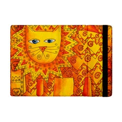Patterned Lion Ipad Mini 2 Flip Cases