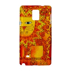 Patterned Lion Samsung Galaxy Note 4 Hardshell Case