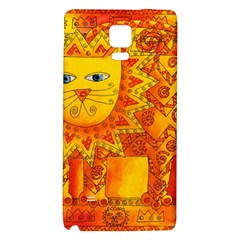 Patterned Lion Galaxy Note 4 Back Case
