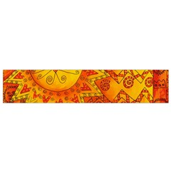 Patterned Lion Flano Scarf (Small)