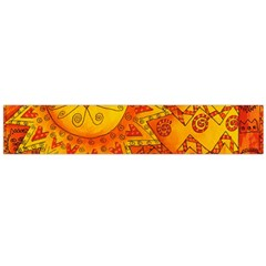 Patterned Lion Flano Scarf (Large)