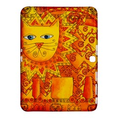 Patterned Lion Samsung Galaxy Tab 4 (10.1 ) Hardshell Case