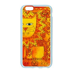 Patterned Lion Apple Seamless iPhone 6 Case (Color)