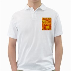 Patterned Leopard Golf Shirts