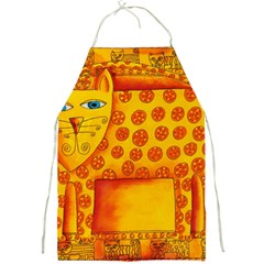 Patterned Leopard Full Print Aprons