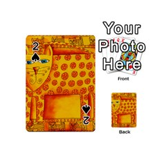 Patterned Leopard Playing Cards 54 (Mini)