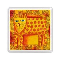 Patterned Leopard Memory Card Reader (square)