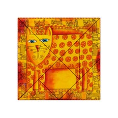Patterned Leopard Acrylic Tangram Puzzle (4  x 4 )