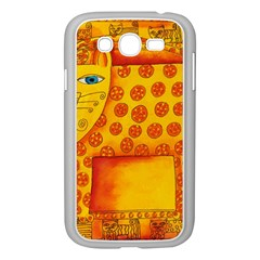 Patterned Leopard Samsung Galaxy Grand Duos I9082 Case (white)