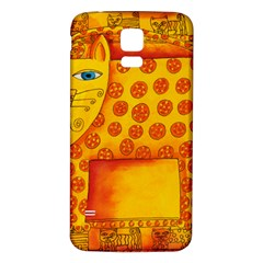 Patterned Leopard Samsung Galaxy S5 Back Case (white)