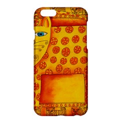 Patterned Leopard Apple iPhone 6 Plus Hardshell Case