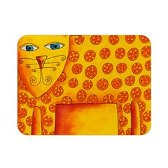 Patterned Leopard Double Sided Flano Blanket (mini)