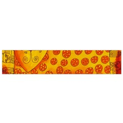 Patterned Leopard Flano Scarf (small)