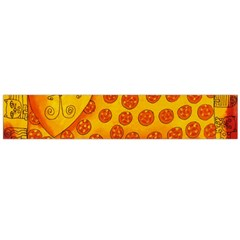 Patterned Leopard Flano Scarf (Large)