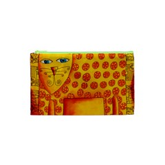 Patterned Leopard Cosmetic Bag (XS)