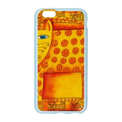 Patterned Leopard Apple Seamless iPhone 6 Case (Color)