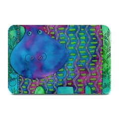 Patterned Hippo Plate Mats