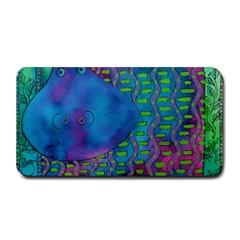 Patterned Hippo Medium Bar Mats