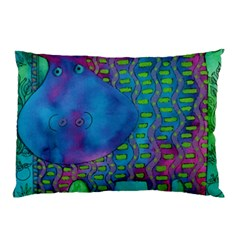 Patterned Hippo Pillow Cases