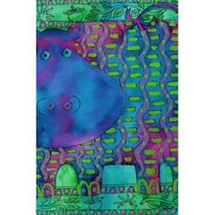 Patterned Hippo 5.5  x 8.5  Notebooks