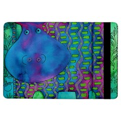 Patterned Hippo Ipad Air Flip
