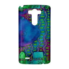 Patterned Hippo LG G3 Hardshell Case