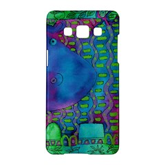 Patterned Hippo Samsung Galaxy A5 Hardshell Case