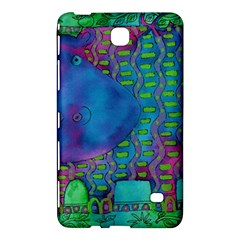 Patterned Hippo Samsung Galaxy Tab 4 (7 ) Hardshell Case