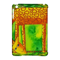 Patterned Giraffe  Apple Ipad Mini Hardshell Case (compatible With Smart Cover)