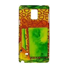 Patterned Giraffe  Samsung Galaxy Note 4 Hardshell Case