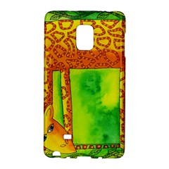 Patterned Giraffe  Galaxy Note Edge