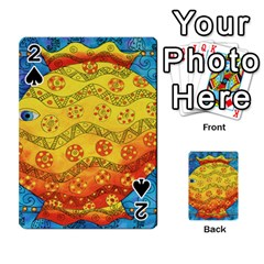 Patterned Fish Playing Cards 54 Designs