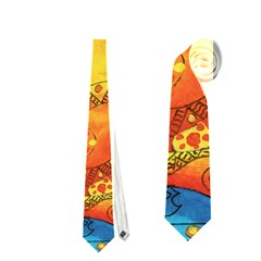 Patterned Fish Neckties (Two Side)
