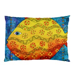Patterned Fish Pillow Cases