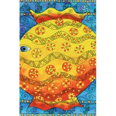 Patterned Fish 5 5  X 8 5  Notebooks