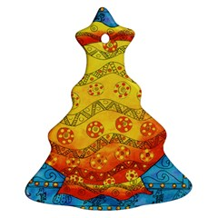 Patterned Fish Ornament (Christmas Tree)