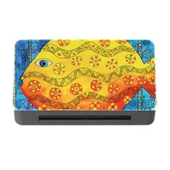 Patterned Fish Memory Card Reader with CF