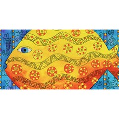 Patterned Fish YOU ARE INVITED 3D Greeting Card (8x4)