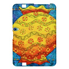 Patterned Fish Kindle Fire Hd 8 9