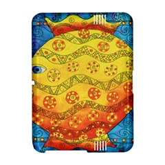 Patterned Fish Kindle Fire HD Hardshell Case